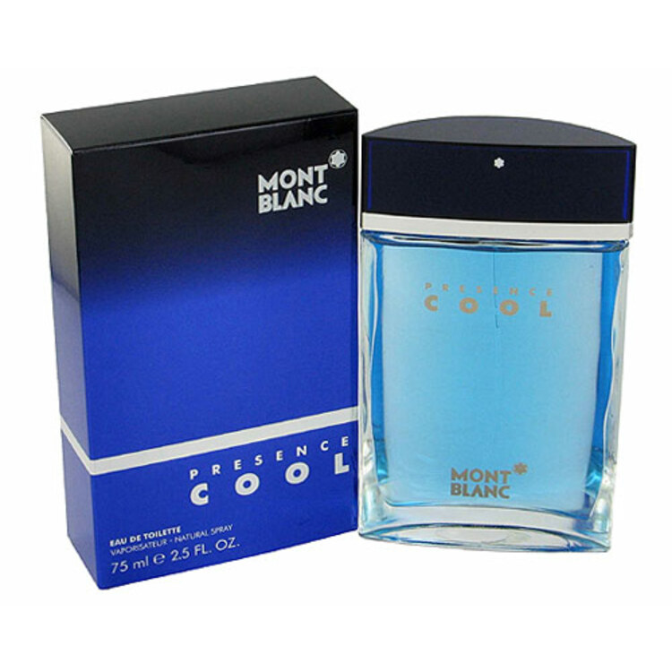 Presence Cool, парфюмерия для мужчин от Mont Blanc
