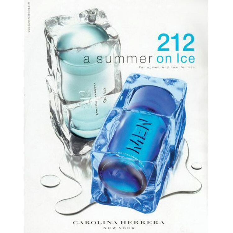 212 On Ice Color, парфюмерия для мужчин от Carolina Herrera
